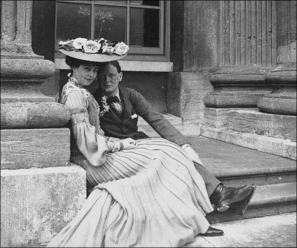 Consuelo Vanderbilt and Winston Churchill